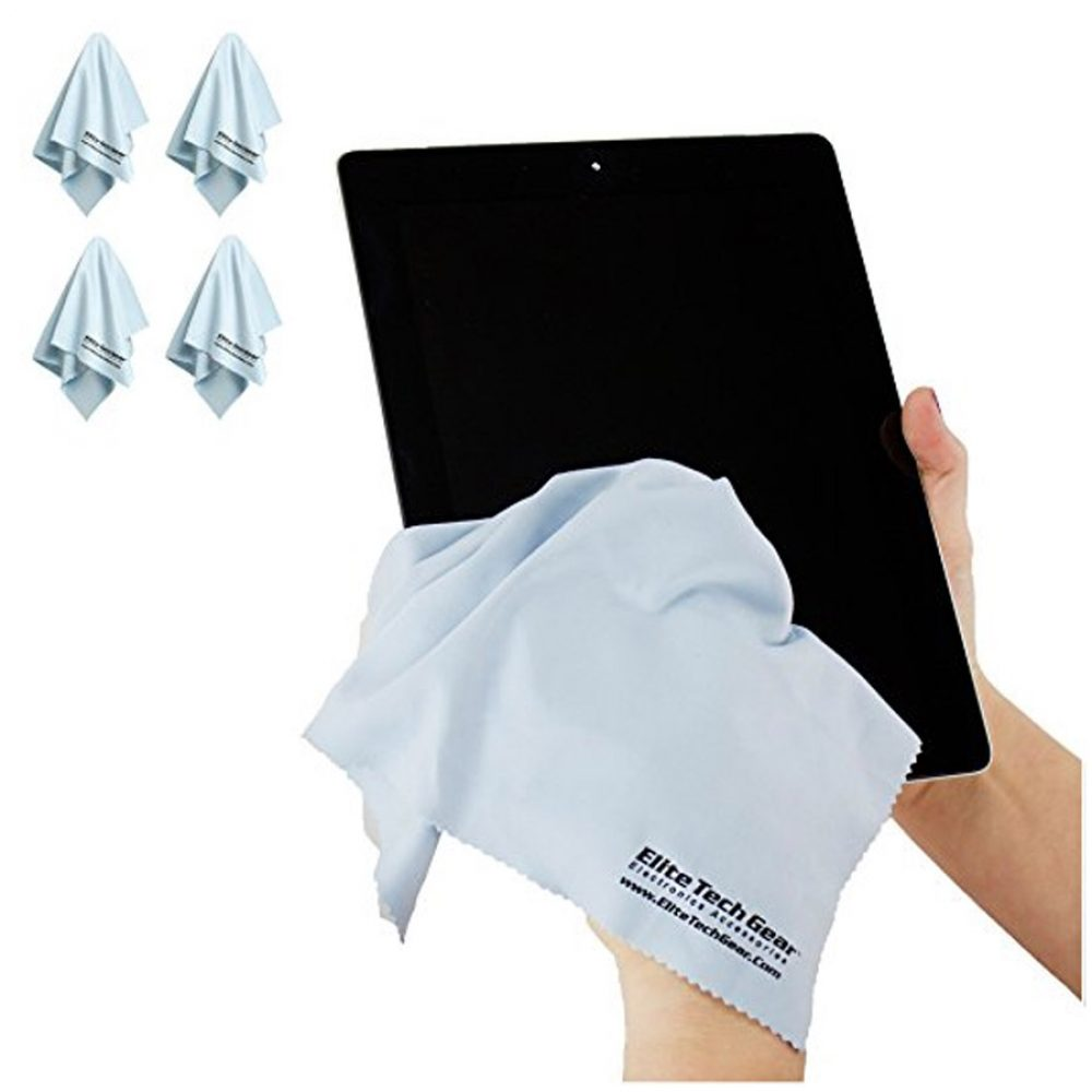 The Most Amazing Microfiber Cleaning Cloths - Perfect As Cell Phone, Tablet, Camera Lens, Eyeglasses, Computer, Monitor, Laptop Screens, Video, Projector, Binocular, Telescope, Headphone, CLEANERS - A Must Have As a Digital Cleaning Accessory